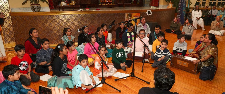 ISKCON Chicago Children Kirtan